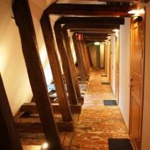 Hotellrum Korridor
